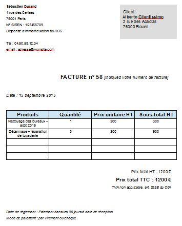 Photo exemple de devis gratuit pdf for Devis gratuit garage auto