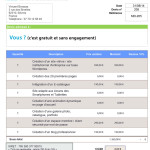 exemple de devis site e-commerce