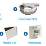 exemple de devis climatisation gainable