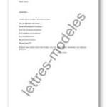 exemple de devis lettre