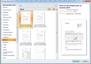 exemple de devis word 2007