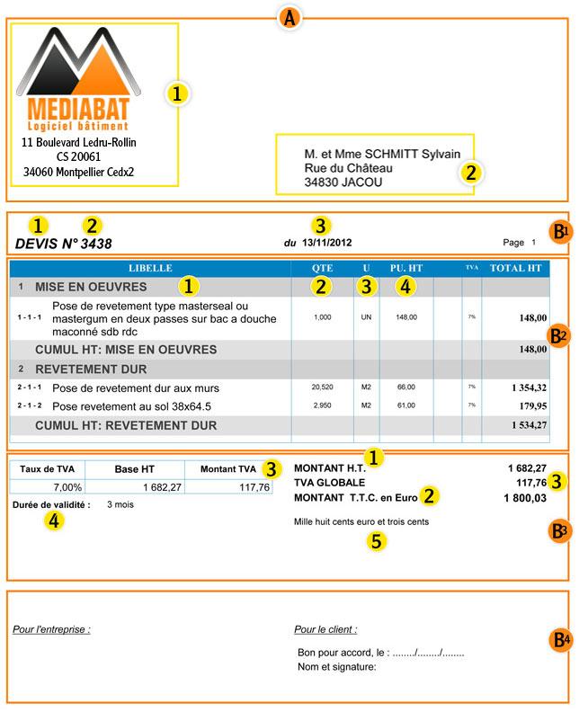 Trouver exemple de devis facture for Exemple devis entretien jardin annuel