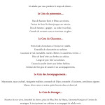 exemple de devis menu restaurant