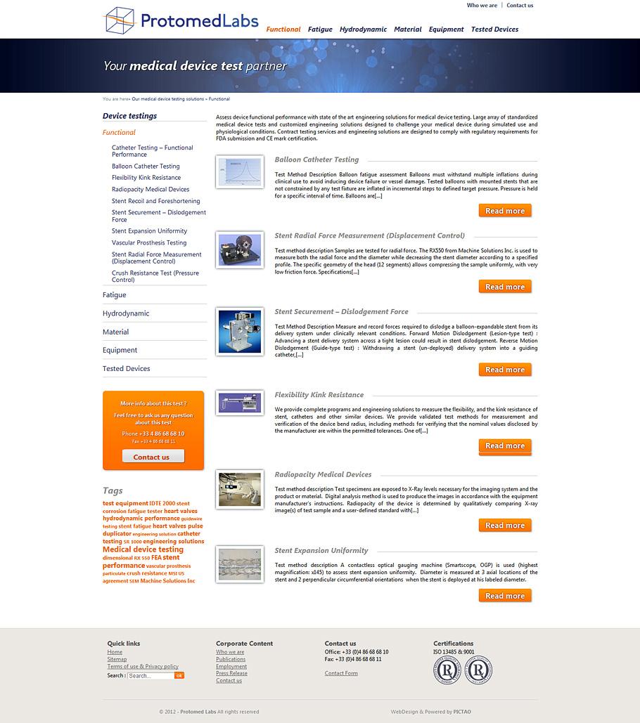 Photo exemple de devis site web