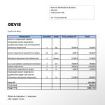exemple de devis batiment pdf
